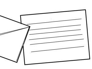 書面で郵送する
